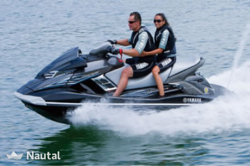Jet ski rent yamaha fx h0 180 cruiser in canals de sta for Yamaha jet ski dealer
